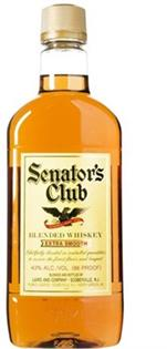 Senator's Club Blended Whiskey 1.00l - Case of 12